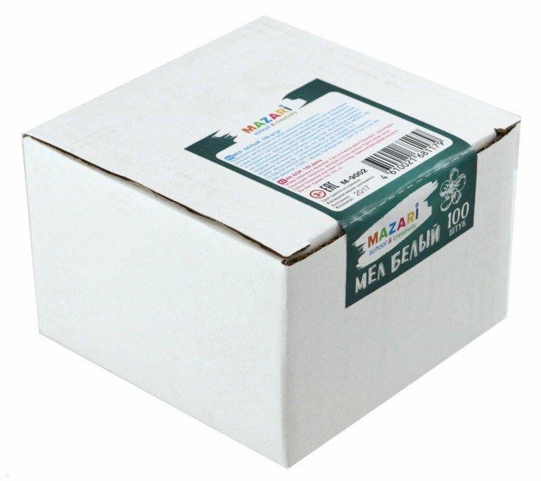 Мел белый арт.М-9002 (в коробке 100 штук)