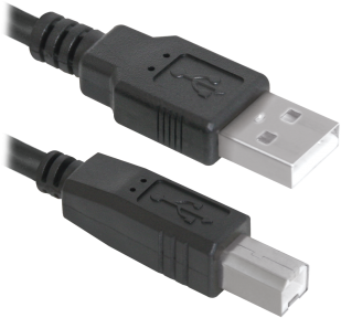 Кабель для принтера Defender USB04-10, AM-BM, 3 м.