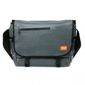 Сумка для ноутбука VAX Basic Messenger VAX-M154BMGYB Metallic/Black
