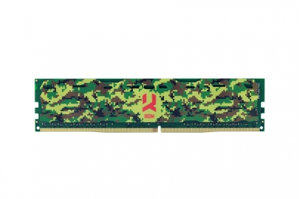 Оперативная память GOODRAM Iridium Camo 4GB DDR4 PC4-17000 (IR-C2133D464L15S/4G)