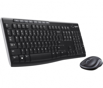 Клавиатура+мышь Logitech Wireless Combo MK270