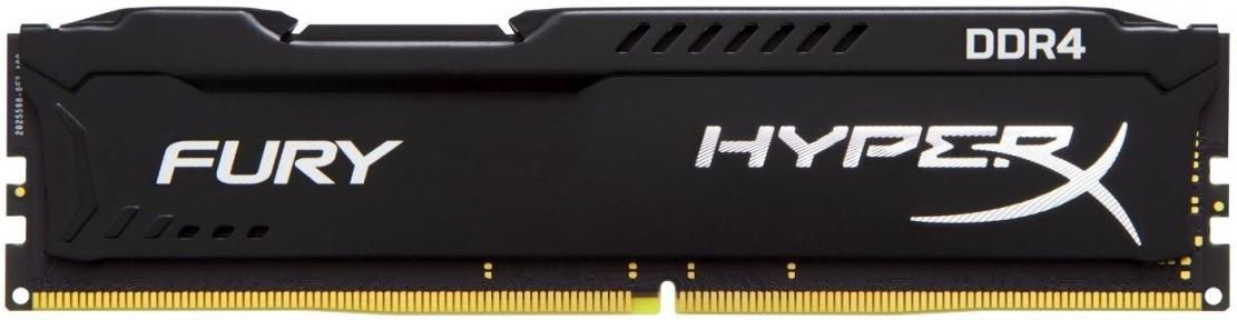 Оперативная память 8Gb DDR4 HyperX Fury (HX424C15FB2/8)