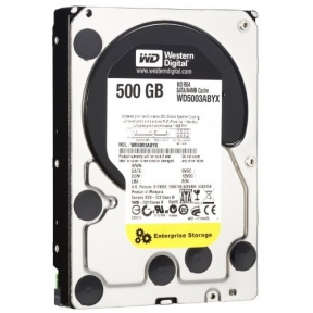 "Жесткий диск HDD 500GB WD RE4 SATA3 3.5"" (WD5003ABYX)"