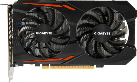 Видеокарта Gigabyte 1050Ti (4Gb) [GV-N105TOC-4GD]