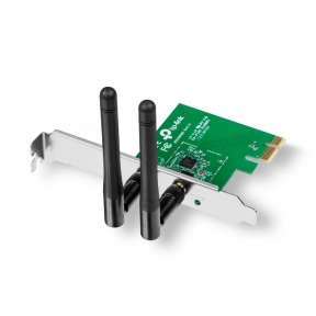 Адаптер беспроводной сетевой TP-Link TL-WN881ND 300Mbps Wireless N PCI Express Adapter, QCA(Atheros), 2T2R, 2.4GHz, 802.11b/g/n