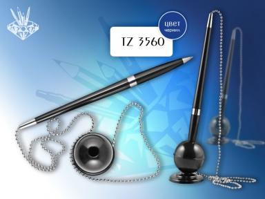 Ручка шарик. на подставке с липучкой TUKZAR