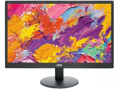 "Монитор 18,5"" AOC E970SWN 1366x768 TN LED 16:9 5ms VGA 20M:1 90/65 200cd Black. (E970SWN/01)"