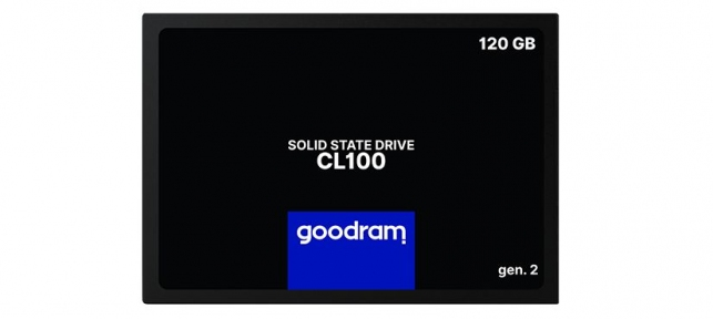 "Накопитель SSD 2,5"" SATA - 120GB Goodram [SSDPR-CL100-120-G2]"