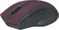 Мышь беспроводная Defender Accura MM-665, красная